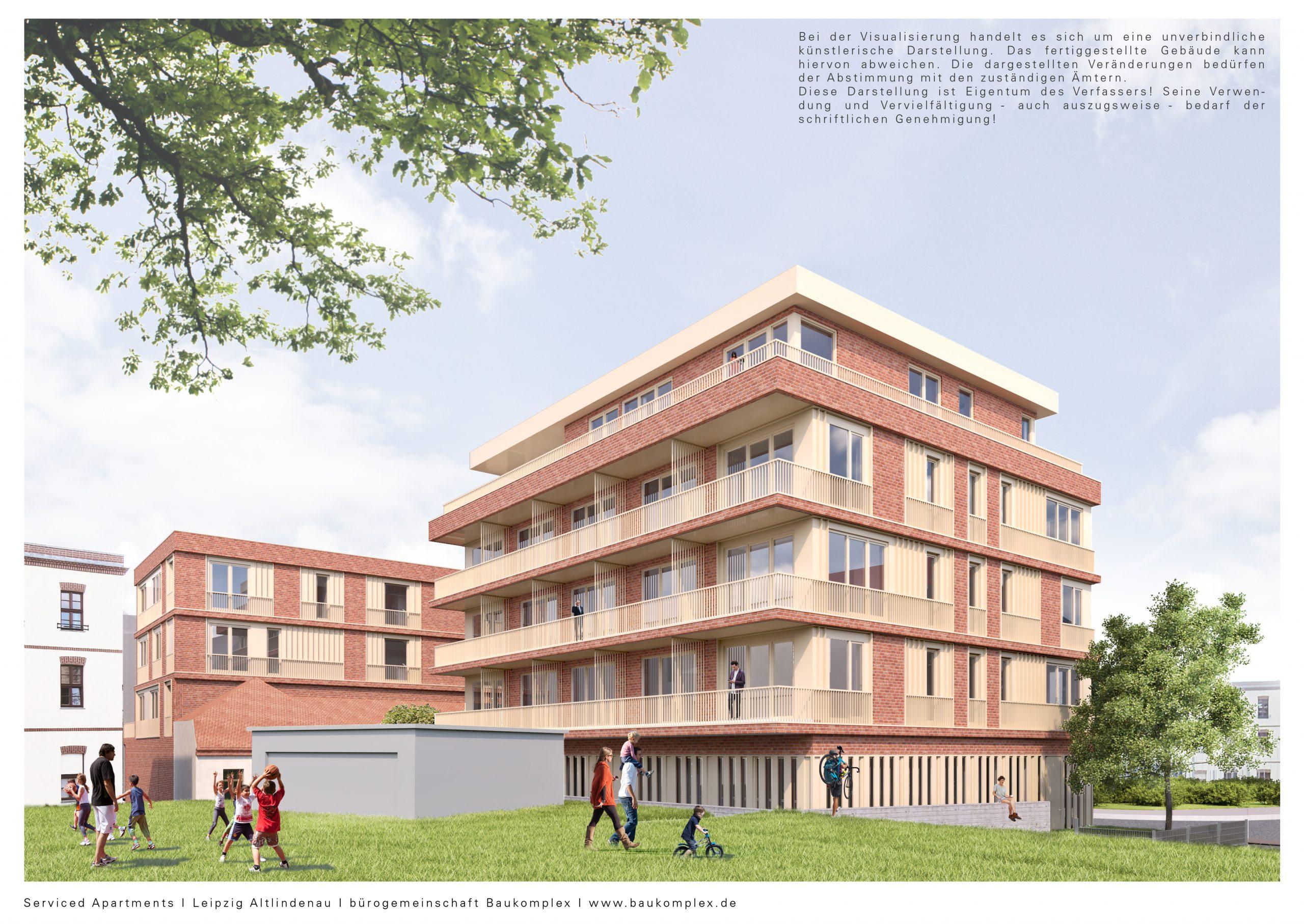Angerstr.-Serviced Apartments_Hofansicht