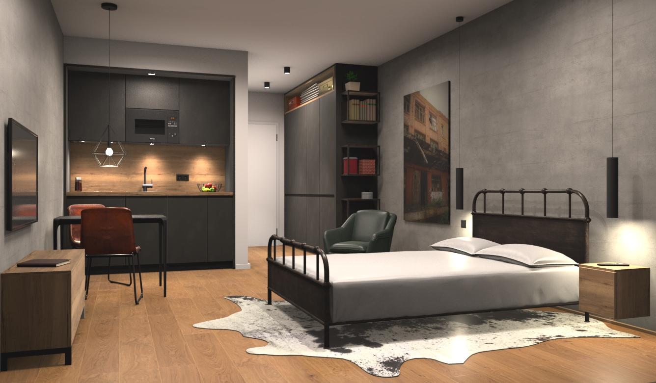 Serviced Apartments-Design Raw
